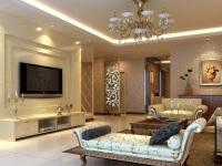 掌握电视背景墙风水 轻松布置客厅