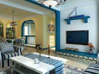 地中海风格装修的家,不一样的家