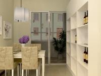 65平米现代简约风格家庭装修