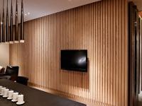 木地板电视背景墙安装步骤具体是怎样的?有哪些需要注意的地方?