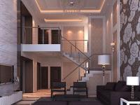 复式楼客厅设计,装出一个不一样的雅致客厅