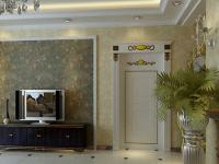 客厅电视墙背景墙纸的搭配及选购