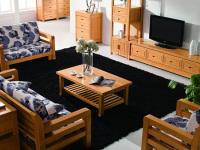 实木沙发颜色该如何搭配?