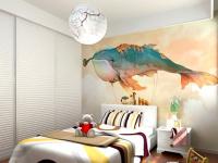 手绘涂鸦墙,打造独一无二的家居风格