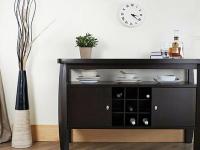 定制实木酒柜设计有哪些技巧?有哪些注意事项?