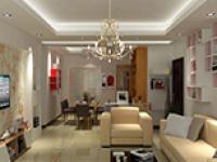 春季装修之美式风格的客厅家居摆设