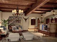 美式田园风格客厅怎么合理布置?一点也不难