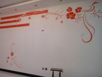 艺术墙手绘设计时的注意事项
