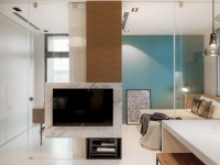 家装电视背景墙设计需注意,尺寸大小需规划