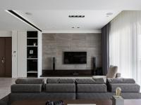 设计现代简约电视背景墙的四大要素