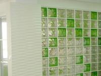 艺术家装须知  玻璃砖隔墙五大妙用
