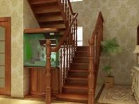 室内楼梯装修必看  室内木楼梯安装要点全解