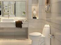 瓷砖选购搭配有技巧 轻松提高浴室颜值