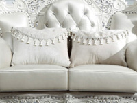 坐垫不合适?白色沙发坐垫的材质介绍