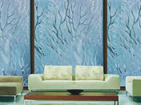 玻璃上怎么做装饰能让家居生活变得更舒适?