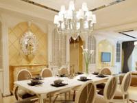 如何营造美感 一盏餐厅欧式吊灯足够
