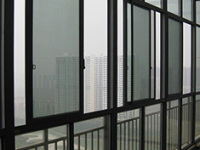 无框阳台玻璃推拉窗优缺点介绍