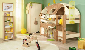 儿童房装修设计该怎么做? 赶紧来取经