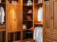 卧室衣柜颜色搭配之深颜色壁柜
