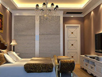 适合小户型家庭的壁柜卧室