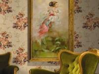 巧用餐厅壁画装饰  个性时尚的餐厅措手可得!