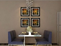 餐厅的墙面装饰  你是否忽视了呢?