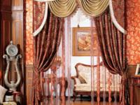 让居室更加雍容华贵 首选欧式风格窗帘!