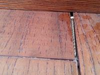 地板后期出现问题 应该如何解决?