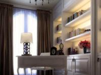 欧式书房的别样风情  让你的书房立马大气