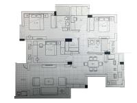 汀州花园·四室两厅  美式  半包10.8万