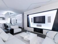 几何黑白硬朗风 奇幻公寓玩转个性