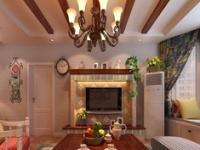 3室110平方  田园风格装修案例精选