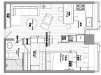 堤角小区·一室两厅  日式  全包5.7万