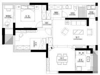 婺江家园·三室两厅  欧式  半包7.9万