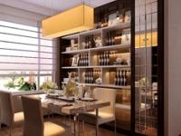 """最新餐厅背景墙搭配 """"延展""""有限的餐厅空间"""