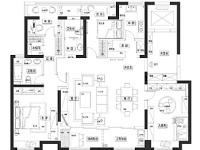 绿地皇家府邸·三室两厅  美式  半包7.5万