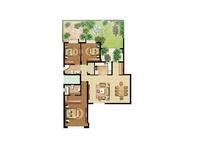 奕盛花园·三室两厅  简约  全包14万