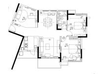 美湖家园·两室两厅  混搭  半包7万
