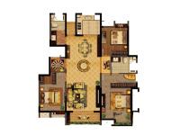 宝龙城市广场·两室两厅  北欧风  半包7万