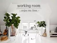 家里有这样的工作空间,真的超酷!