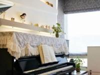 如何在33平两居房轻松放置钢琴  这设计给满分