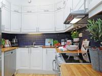欧式厨房装修案例 超强大收纳功能