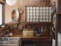 8款充满木质元素的日式厨房