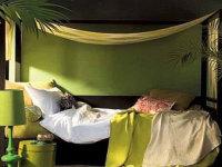 8个田园风格卧室案例!看热带树林驻扎卧房