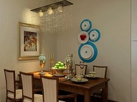 餐厅大改造 餐厅墙面装修材料特性