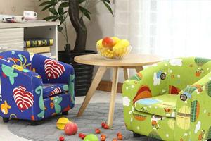 儿童沙发选购技巧 关注儿童成长健康