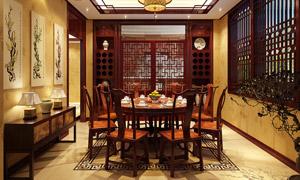 中式餐厅装潢设计,哪些元素是重点?