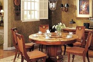 餐桌难以选择?四个步骤挑到好餐厅家具餐桌