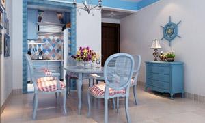 地中海风格餐厅设计,让餐厅更浪漫