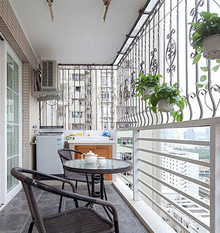 小户型阳台五种方案设计 总有一种适合你
